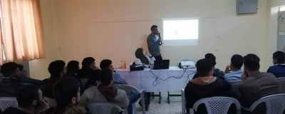 The activity of the Industrial School - Hebron Branch.