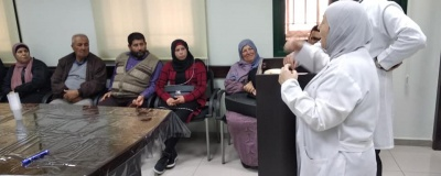 The activity of the nablus branch