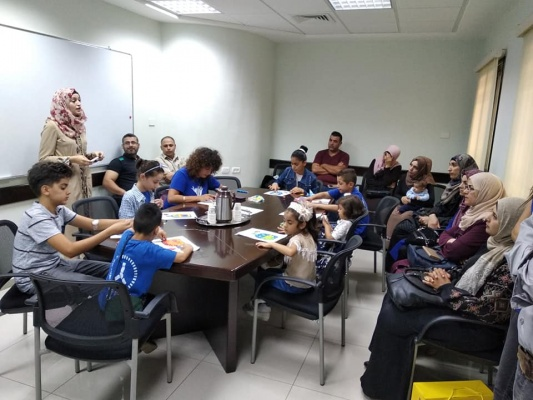 Recreational activity for children with diabetes type I - Nablus branch